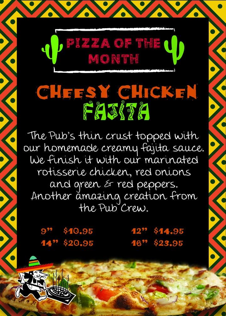Cheesy Chicken Fajita