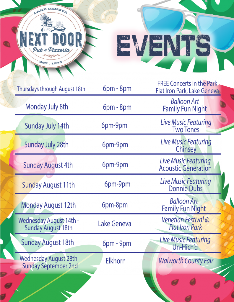 Events July 9
