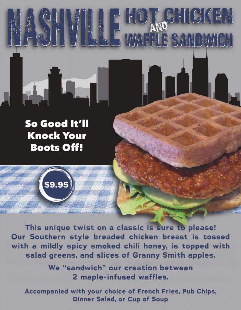 Nashville Hot Chicken & Waffle